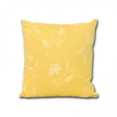 Perna decorativa Jaquard Model Garoafe galben