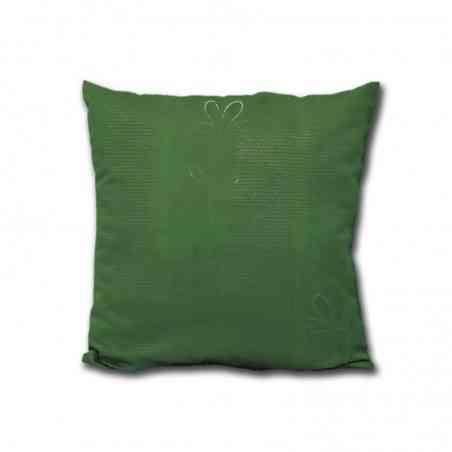 Perna decorativa Jaquard Model Floare verde